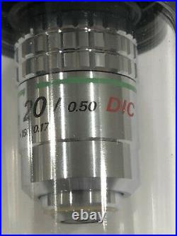 Nikon Microscope Objective Lens CF Plan Achromat DIC 20x for Finite systems