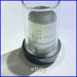 Nikon Microscope Objective Lens M Plan 40 DI 0.5 210/0 Limited Japan MTE005