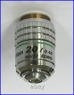 Nikon Microscope Objective Plan 20/0.40 ELWD RMS Thread