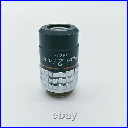 Nikon Microscope Objective Plan 2x 160/