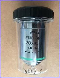 Nikon Microscope Objective Plan Apo 20x/0,75 DIC M/N2 (Used)
