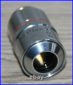 Nikon Mikroskop Microscope Objektiv M Plan 2,5/0,075 (endlich Optik)