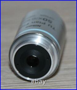 Nikon Mikroskop Microscope Objektiv TU Plan Fluor 50x/0,80 A Epi (OFN25 WD1,0)