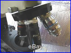 Nikon Optiphot Compound Brightfield Microscope With Objective Plan 1,4,10,40,60