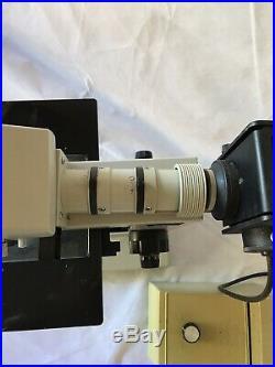 Nikon Optiphot Microscope Epi Vertical Reflection BF/DF 5,10,20,40x BD Plan