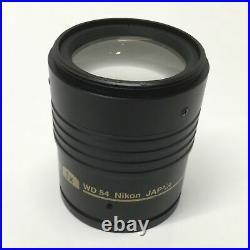 Nikon P-HR Plan Apo 1X WD 54mm Objective Lens, SMZ Series Stereo Microscope