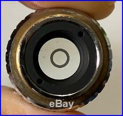 Nikon PhL Plan 4 / 0.13 DL160 / -, 4X Phase Contrast Microscope Objective
