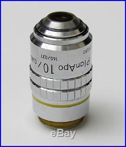 Nikon PlanApo CFN 10x / 0.45 160 / 0.17 Microscope Objective Plan Apo