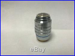 Nikon PlanApo CFN 60x / 1.40 Oil 160 / 0.17 Microscope Objective Plan Apo