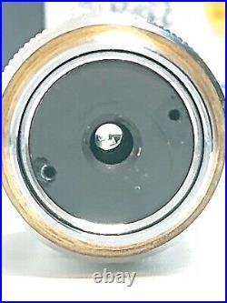 Nikon Plan 100x 0.90 160/0 Dry NCG Microscope Objective Lens no cover glass