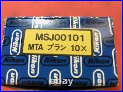 Nikon Plan 10 / 0.30 160 / 0.17 Microscope Objective