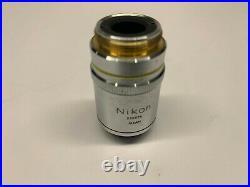 Nikon Plan 10x 0.25na 160mm/- Ph1 DL Phase Microscope Objective Labophot A70