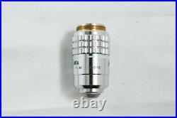 Nikon Plan 40x / 0.70 160/0.17 Microscope Objective Lens from Japan #2650