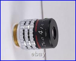 Nikon Plan 4x /. 13 RMS 160 TL Microscope Objective