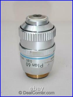 Nikon Plan 60x Iris Microscope Objective