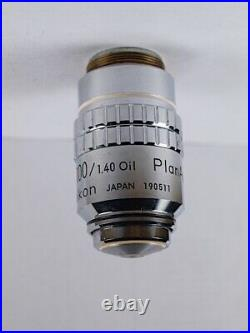 Nikon Plan APO 100x /1.4 Oil 160mm TL Microscope Objective