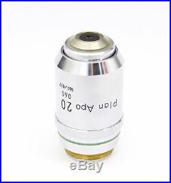 Nikon Plan APO 20x 0.65 Microscope Objective