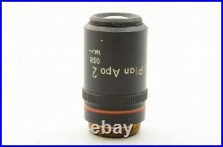 Nikon Plan APO 2x / 0.08 160mm TL Microscope Objective Lens 20.25mm 21783