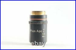 Nikon Plan APO 2x / 0.08 160mm TL Microscope Objective from Japan #1334
