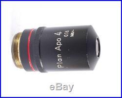Nikon Plan APO 4x Apochromat 160mm TL Microscope Objective