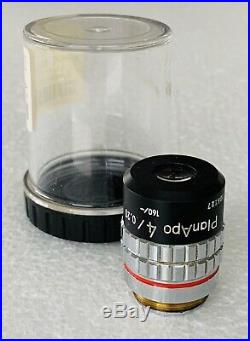 Nikon Plan APO Apochromat 4X/0.20 Microscope Objective 160mm