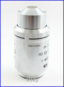 Nikon Plan Apo 100x 1.45 Lambda Oil DIC N2 Microscope Objective