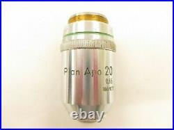 Nikon Plan Apo 20X 0.65 160/0.17 Microscope objective lens Apochromatic RMS #2