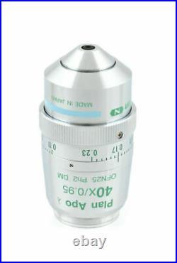 Nikon Plan Apo 40x/0.75 Ph2 DM Eclipse series Microscope Objective New