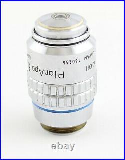 Nikon Plan Apo 60x 1.40 Oil CFN Microscope Objective Optiphot Labophot