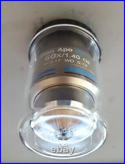Nikon Plan Apo VC 60x/1.40 Oil Immersive Microscope Objective