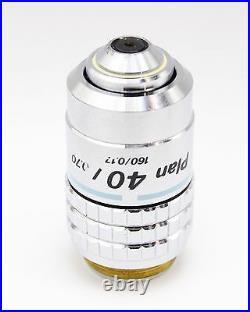 Nikon Plan CFN 40x 0.70 160mm Microscope Objective
