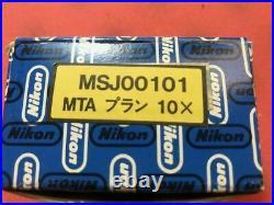 Nikon Plan CF N 10x 10/0.30 160/0.17 Microscope Objective focus stacking
