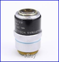 Nikon Plan ELWD 30x 0.5 0-0 Hoffman Modulation Contrast Objective Microscope HMC