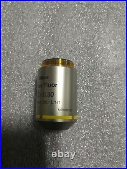 Nikon Plan Fluor 10x/0.30 OFN25 DIC L/N1 MRH00101 Microscope Objective Lens