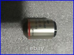 Nikon Plan Fluor 4X/0.13 /- WD 17.2 MRH00041 Microscope Objective