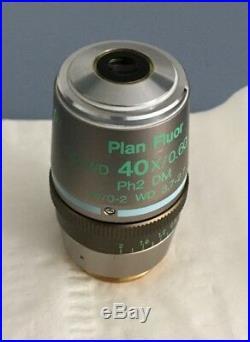 Nikon Plan Fluor ELWD 40x/0,60 DIC M Ph2 DM Eclipse Microscope Objective