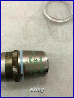 Nikon Plan Fluor ELWD 40x Ph2 DM Phase Contrast Eclipse Microscope