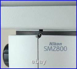 Nikon SMZ800 Microscope Ergo Head, 10x Eyepiece, Plan 1x Objective & C-PS Stand