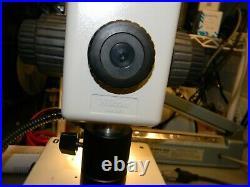 Nikon SMZ-U Binocular Microscope W Nikon ED Plan 1X, 7.5- 75X Zoom, Stand