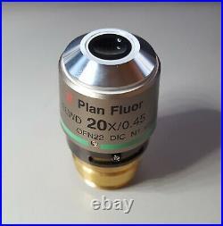 Nikon Super S Plan Fluor ELWD 20x/0.45 DIC Microscope Objective