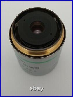 Nikon TU Plan 20x/0.40 ELWD BD WD19 Microscope Objective