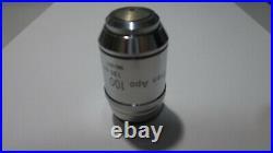 Nikon plan apo 100x/1.35 oil microscope objective