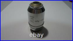 Nikon plan apo 20x/0.65 160mm microscope objective