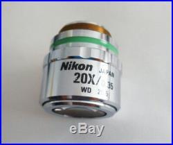 ONE FOR Nikon Microscope CF Plan 20x/0.35 SLWD /0 WD 20.5mm EPI objective lens