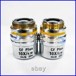 ONE Used Nikon CF Plan 10X/0.30 microscope objective