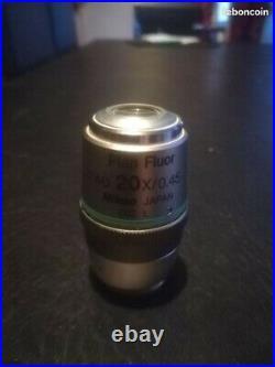 Objectif microscope NIKON Plan fluor ELWD 20X/0.45