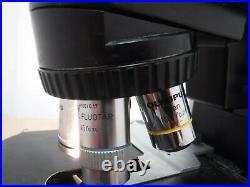 Olympus BX45 BX45TF Lab Microscope with 4 N Plan Objectives 10x 20x 50x 100x