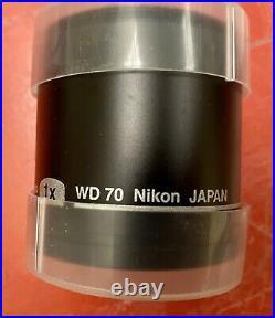 Plan Apo 1x Wd70 Nikon Japan