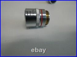 Set of 2 Nikon M Plan DIC 5X 0.1 & 10X 0.25 210/0 Microscope Objective