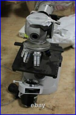 Zeiss Microscope 0.5x Tessouar 1x Neofluar 63/1.25oil Nikon 4 Plan 40/0.75 Cine